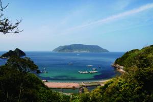 田ノ浦からみた祝島